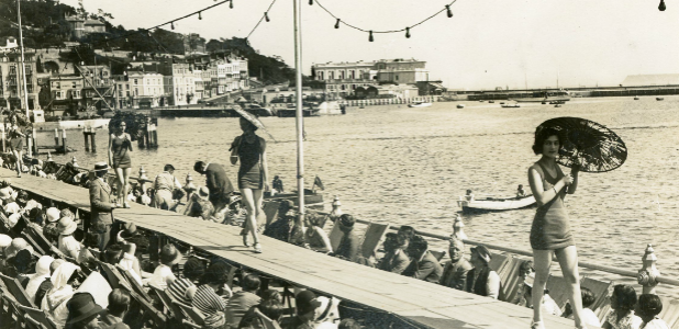 Beauty Contest Torquay Seafront c1933