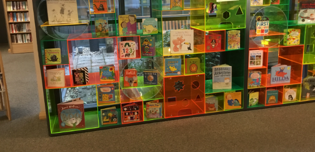 Fun children's book display