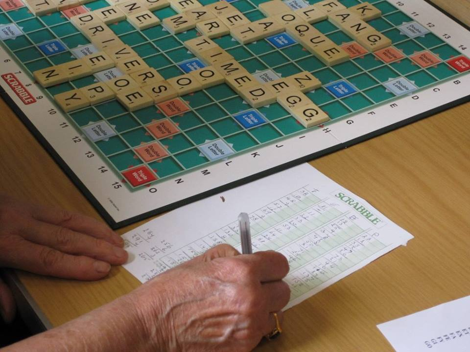 Come and join our Scrabble group to keep your mind active or to have a bit of fun with some new friends.