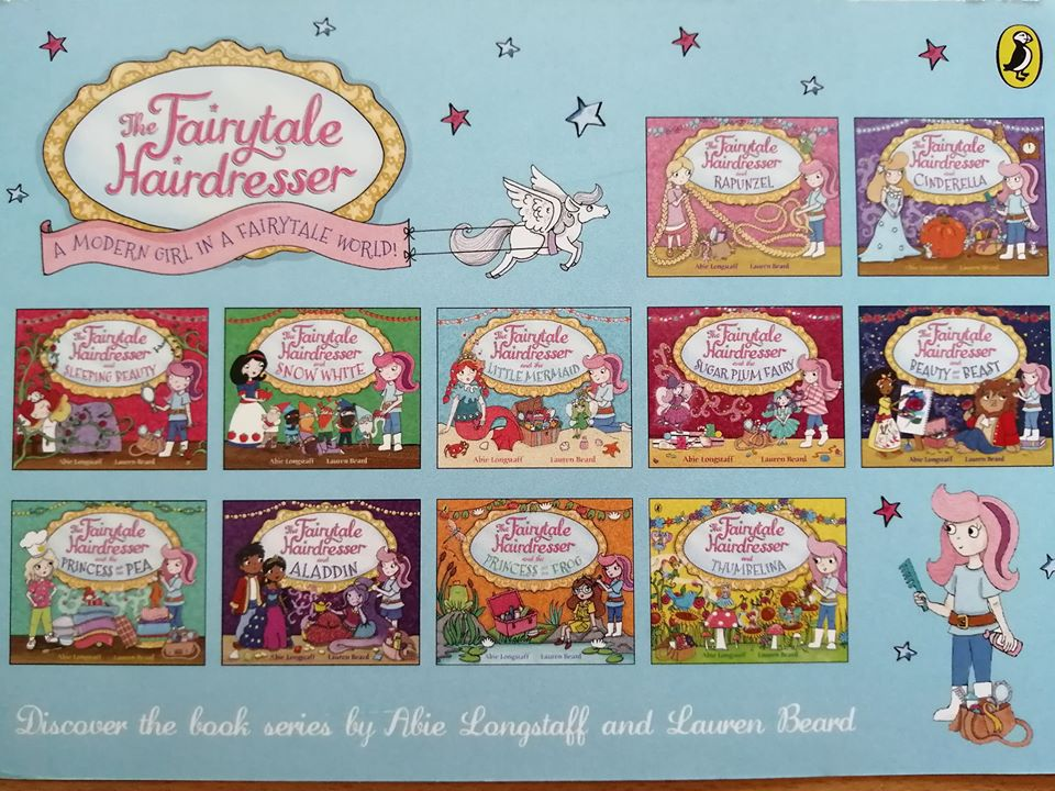 We will be reading one of the Fairytale Hairdresser books and doing some activities about the book, including colouring in headbands. Come with your best hair dos! No need to book just come down and join in!