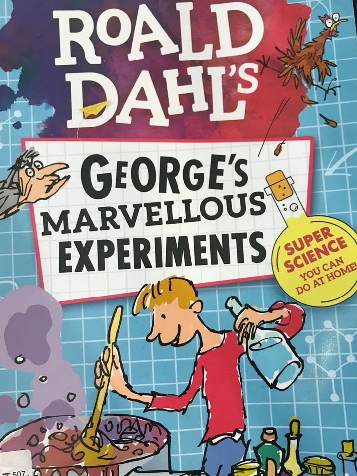 Join us again for another fun palace! This year we have some fun Science experiments based around Roald Dahl's George's Marvellous Medicine. No need to book just come down and join in the fun.