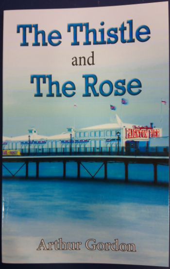 Arthur Gordon will be here to sign copies of 'The Thistle and The Rose', a poetry book inspired by Torbay.