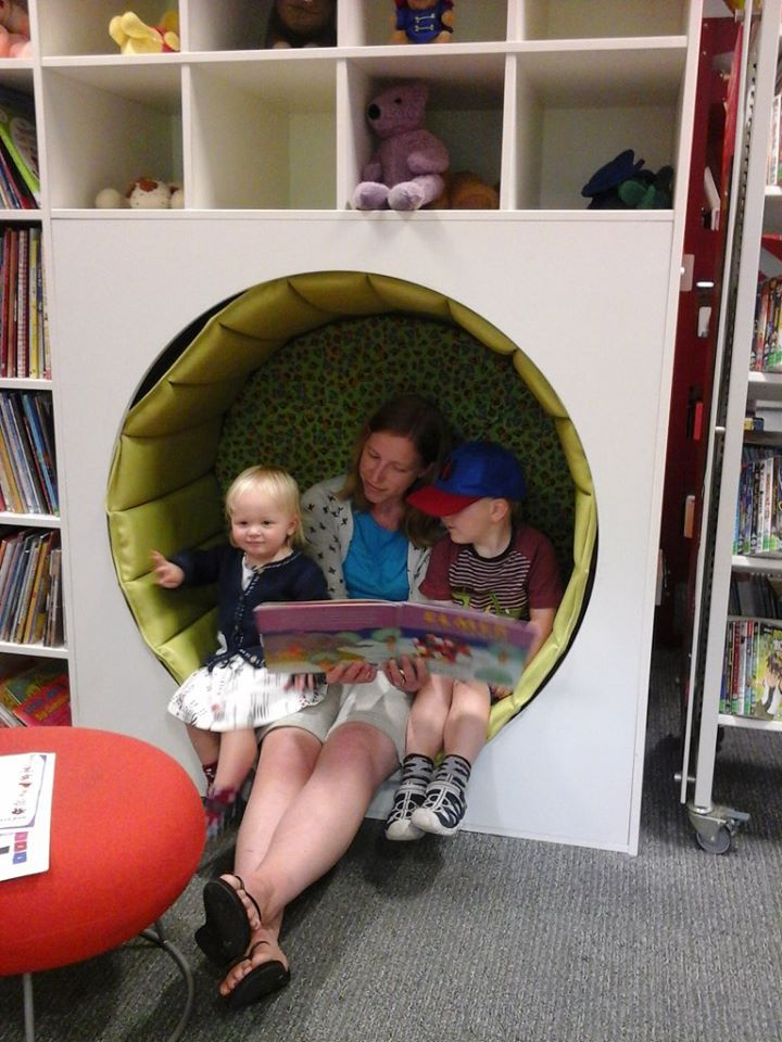 Settle down and listen to some lovely stories read by our library staff 'live'. Just join our facebook event - Story time Online with Paignton Library.